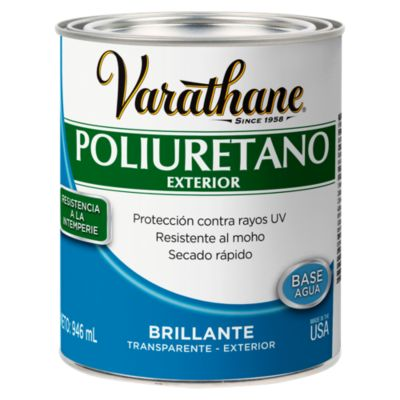 Poliuretano para madera de exterior Varathane Brillante 0,946L