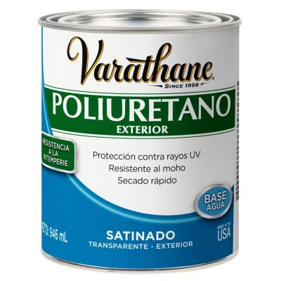 Poliuretano para madera de exterior Varathane Satinado 0,946L