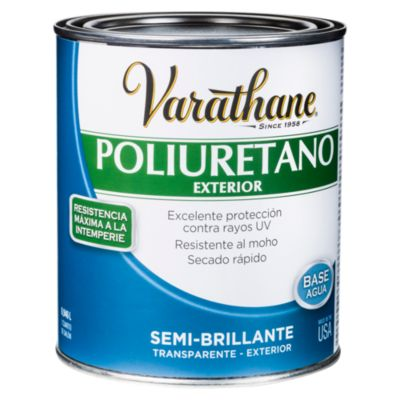 Poliuretano para madera de exterior Varathane Semi Brillante 0,946L