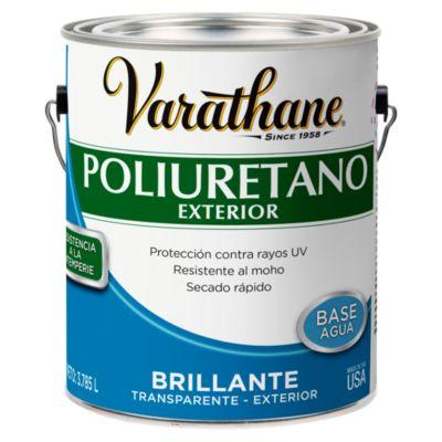 Poliuretano para madera de exterior Varathane Brillante 3,785L