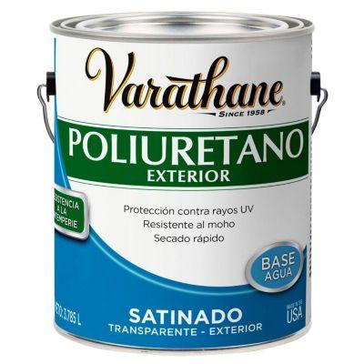 Poliuretano para madera de exterior Varathane Satinado 3,785L