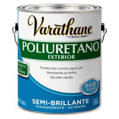 Poliuretano para madera de exterior Varathane Semi Brillante 3,785L