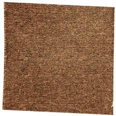 Alfombra de pared a pared marrón 4m