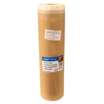Papel con cinta 45cmx20m