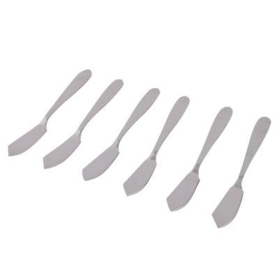 Set de cuchillos 6 piezas mantequilla