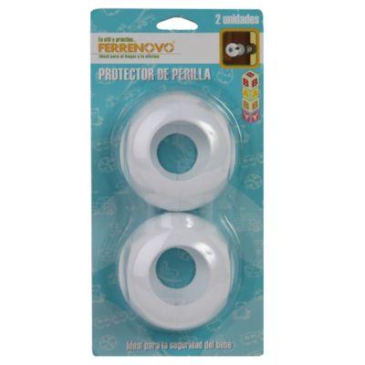 Set 2 protectores perilla de puerta 6.5cm