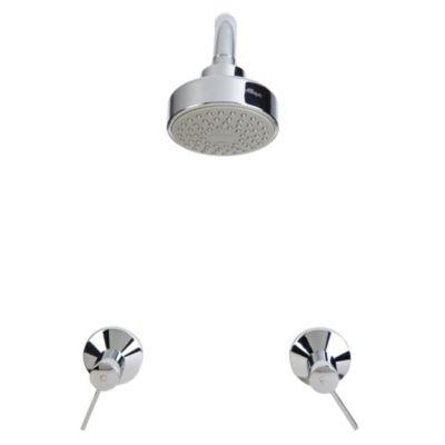 Mezcladora de ducha + Salida Marina 8''