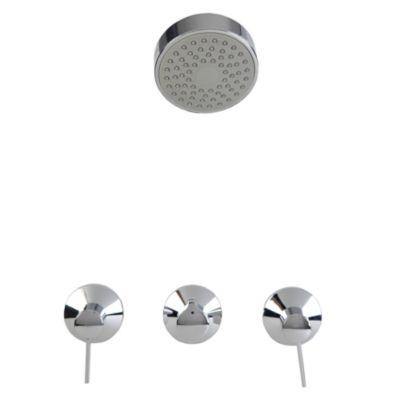 Mezcladora de ducha tina + Salida Marina 8''