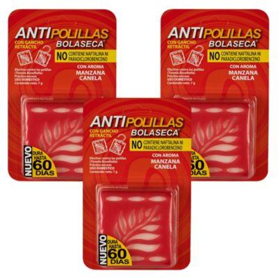 Antipolilla Manzana y Canela x 3 unidades