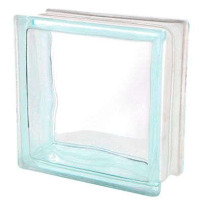 Block de Vidrio Olas 19 x 19 cm