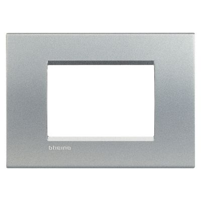 Placa Rectangular Living Light Gris