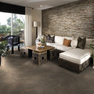 Cerámica Harmony Gris Con Relieve 27x45cm para piso o pared