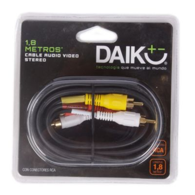 Cable Audio / Video Stereo 1.8 m