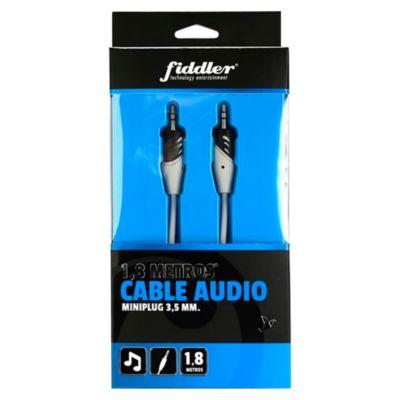 Cable de Audio Miniplug 1.8 m