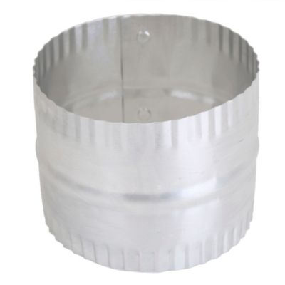 Conector Aluminio P/Ducto 4''