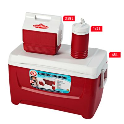 Combo cooler 3 piezas 45L, 3L y termo de 0,95L