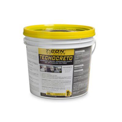 Sellador impermeabilizante Techocreto blanco 1 gl
