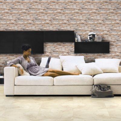 Cerámica Tentación Marron Con Relieve 27x45cm para piso o pared