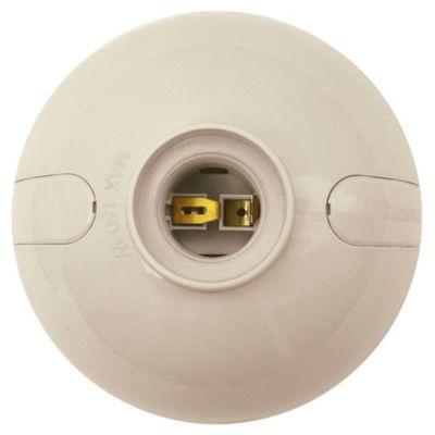 Wall socket oval marfil