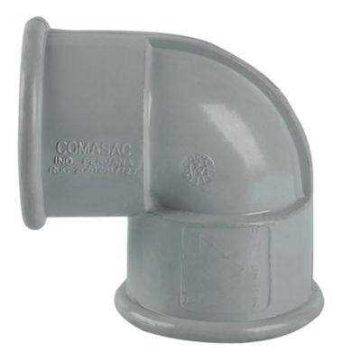 "Codo PVC 1 1/4"" x 90° UR"