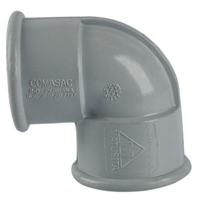 "Codo PVC 1 1/2""x 90° CR"