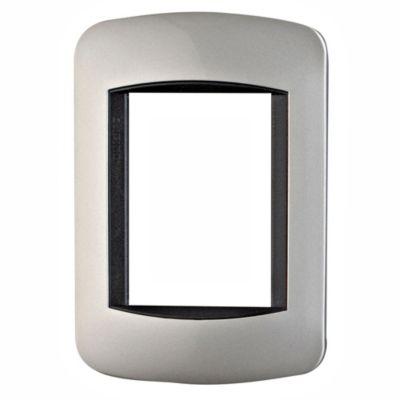 Placa metal aluminio claro
