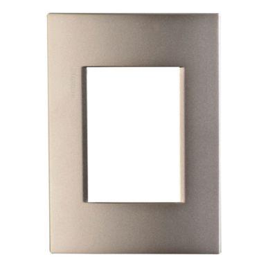 Placa metal light titanio