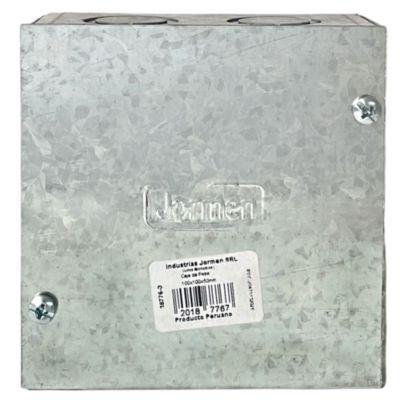 "Caja De Pase 4 X 4 X 2"" Liviano Jormen"