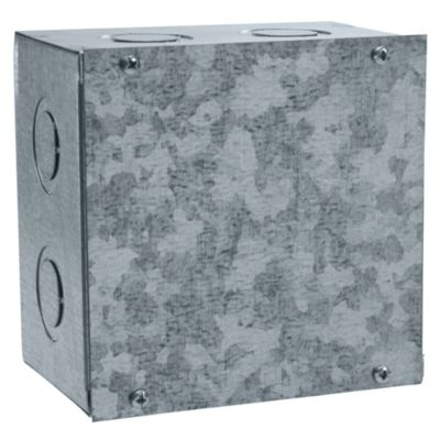 "Caja de Pase Liviana 6x6x4"""