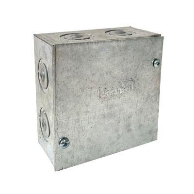 """Caja De Pase 4 X 4 X 2"""" Pesado Jormen"""