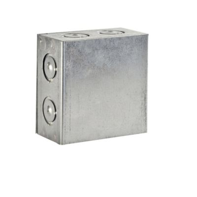 "Caja de Paso Pesada 4x4x2"""