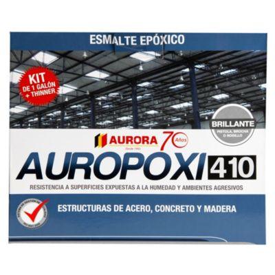 Esmalte epóxico Auropoxi negro 410 1gl