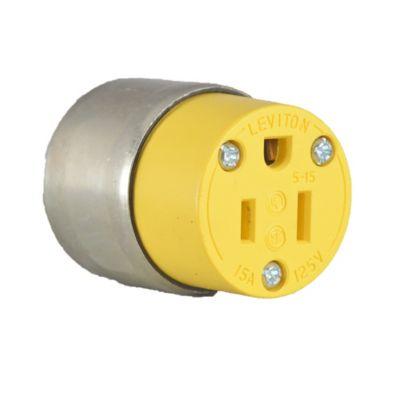 Conector Aereo Blindado 2P+T 15A 125V