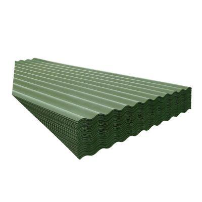 Techo de Perfil 4 mm Verde 1.10 x 3.05 m