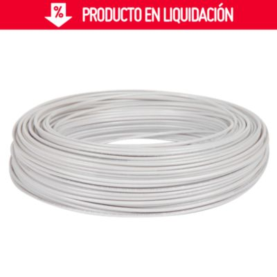 Cable THHN 12 AWG Blanco x 100 m