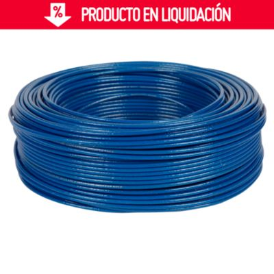 Cable THHN 14 AWG Azul x 100 m