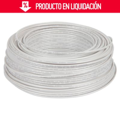 Cable THHN 14 AWG Blanco x 100 m