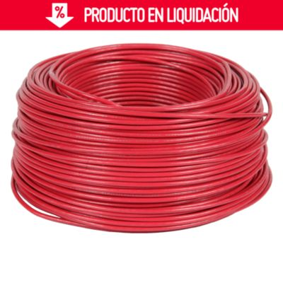 Cable THHN 14 AWG Rojo x 100 m