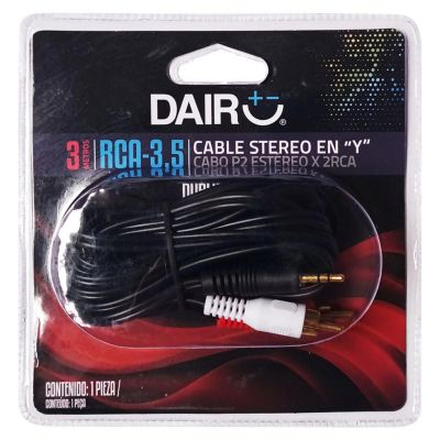 Cable Dubling Stereo 3m