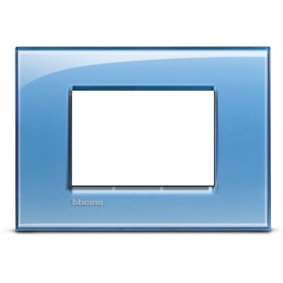 Placa Rectangular Tecnop Living Light Azul