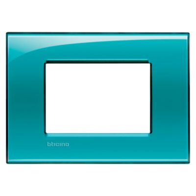 Placa Rectangular Tecnop Living Light Verde