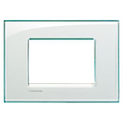 Placa Rectangular  Living Light  Aguamarina