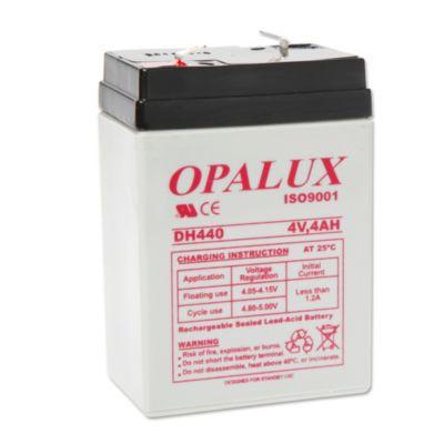 Bateria seca 4 V 4 ah opalux DH-4V4AH plomo