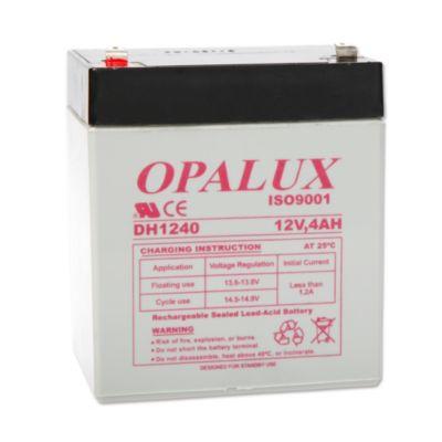 Bateria seca 12 V 4 ah opalux DH-1240 plomo