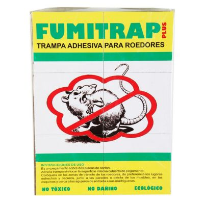 Trampa adhesiva para roedores