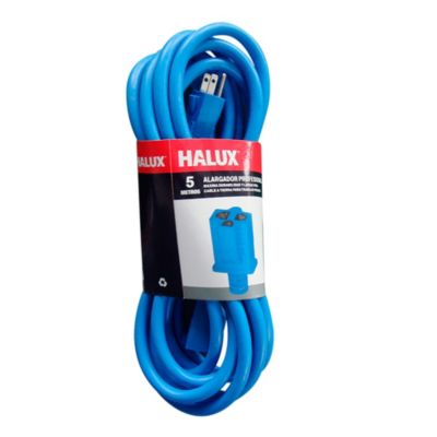 Extension profesional 3x12AWG 5m Azul