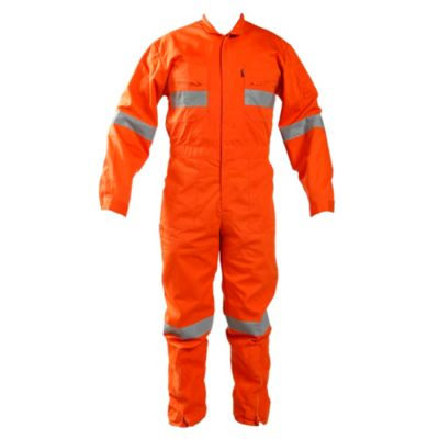 Overol Poplin Naranja T - XL