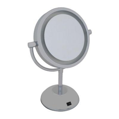 Espejo con luz 2 caras 31x17cm