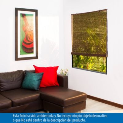 Persiana Roller Bamboo Cafe 80x165
