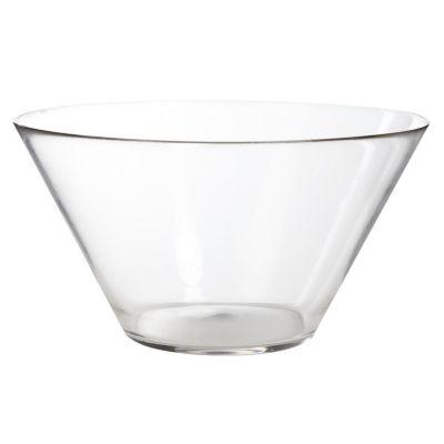 Bowl de vidrio para ensalada